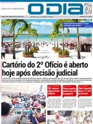Jornal O Dia - Cartório do 2º Ofício é aberto hoje após decisão judicial