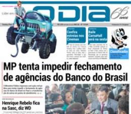 Jornal O Dia - MP tenta impedir fechamento de agências do Banco do Brasil