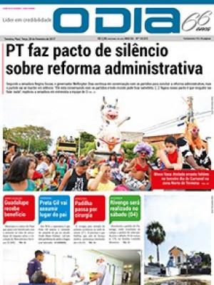 Jornal O Dia - PT faz pacto de silêncio  sobre reforma administrativa