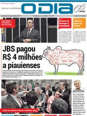 Jornal O Dia - JBS pagou  R$ 4 milhões  a piauienses
