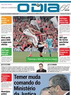 Jornal O Dia - Temer muda comando do Ministério da Justiça