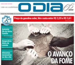 Jornal O Dia - O avanço da fome