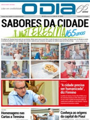 Jornal O Dia - Sabores da cidade