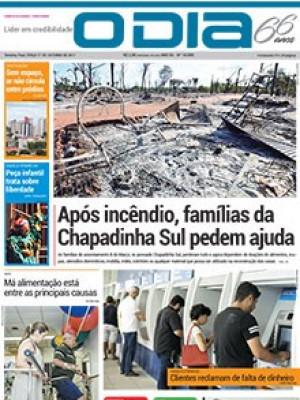 Jornal O Dia - Após incêndio, famílias da Chapadinha Sul pedem ajuda