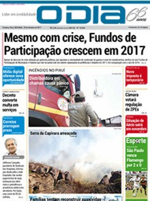 Jornal O Dia - Mesmo com crise, Fundos de Participação crescem em 2017