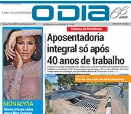 Jornal O Dia - Aposentadoria integral só após 40 anos de trabalho