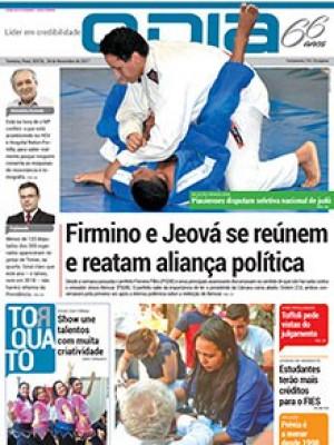 Jornal O Dia - Firmino e Jeová se reúnem e reatam aliança política