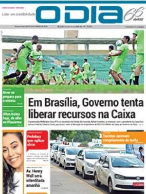 Jornal O Dia - Em Brasília, Governo tenta liberar recursos na Caixa