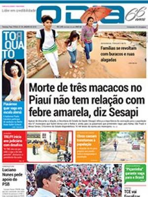 Jornal O Dia - Morte de três macacos no Piauí não tem relação com febre amarela, diz Sesapi