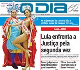 Jornal O Dia - Lula enfrenta a Justiça pela segunda vez
