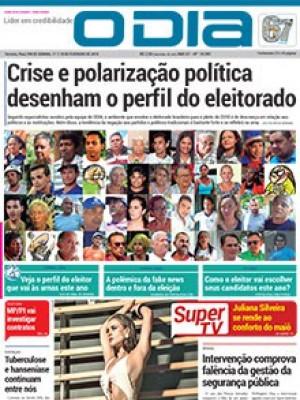 Jornal O Dia - Crise e polarização política desenham o perfil do eleitorado