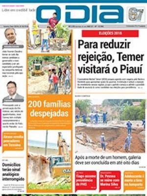 Jornal O Dia - Para reduzir rejeição, Temer visitará o Piauí