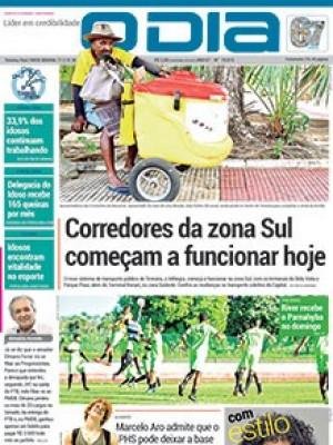 Jornal O Dia - Corredores da zona Sul começam a funcionar hoje