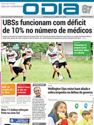 Jornal O Dia - UBSs funcionam com déficit de 10% no número de médicos