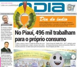Jornal O Dia - No Piauí, 496 mil trabalham para o próprio consumo