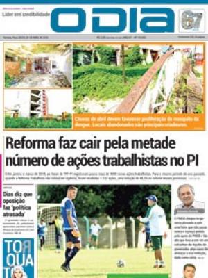 Jornal O Dia - Reforma faz cair pela metade  número de ações trabalhistas no PI