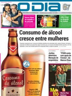 Jornal O Dia - Consumo de álcool  cresce entre mulheres