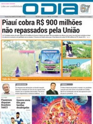 Jornal O Dia - Piauí cobra R$ 900 milhões não repassados pela União