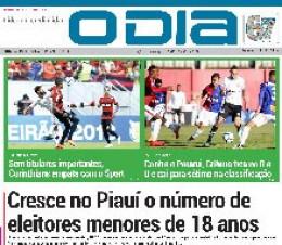 Jornal O Dia - Cresce no Piauí o número de eleitores menores de 18 anos