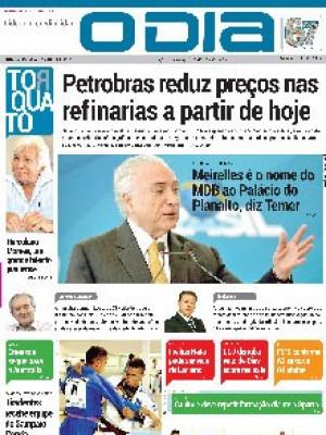 Jornal O Dia - Petrobras reduz preços nas refinarias a partir de hoje