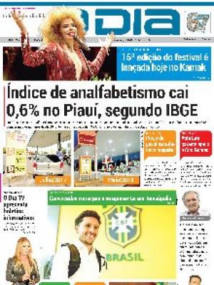Jornal O Dia - Índice de analfabetismo cai 0,6% no Piauí, segundo IBGE