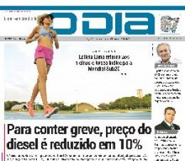 Jornal O Dia - Para conter greve, preço do diesel é reduzido em 10%