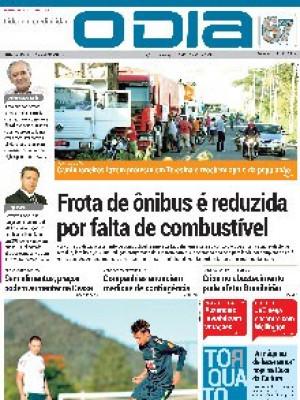 Jornal O Dia - Frota de ônibus é reduzida por falta de combustível