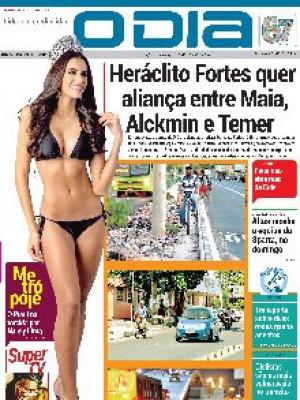 Jornal O Dia - Heráclito Fortes quer aliança entre Maia, Alckmin e Temer