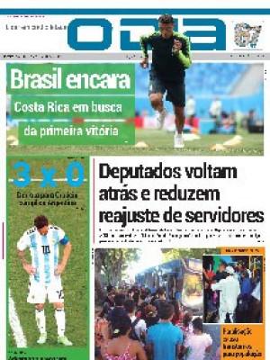 Jornal O Dia - Deputados voltam atrás e reduzem  reajuste de servidores