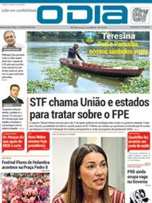 Jornal O Dia - STF chama União e estados para tratar sobre o FPE