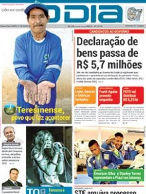 Jornal O Dia - Declaração de bens passa de R$ 5,7 milhões