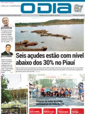Jornal O Dia - Seis açudes estão com nível  abaixo dos 30% no Piauí