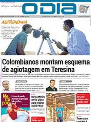 Jornal O Dia - Colombianos montam esquema de agiotagem em Teresina