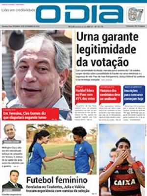 Jornal O Dia - Urna garante legitimidade da votação