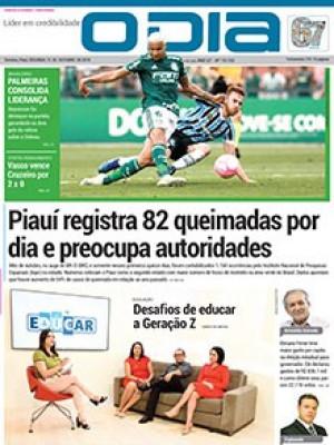 Jornal O Dia - Piauí registra 82 queimadas por dia e preocupa autoridades número de