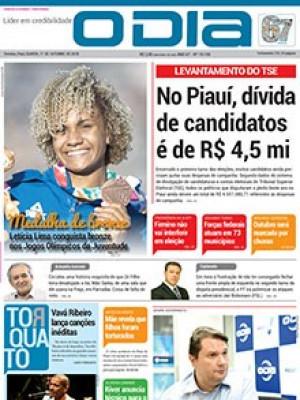 Jornal O Dia - No Piauí, dívida de candidatos é de R$ 4,5 mi