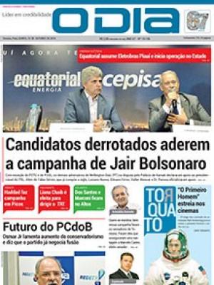 Jornal O Dia - Candidatos derrotados aderem a campanha de Jair Bolsonaro