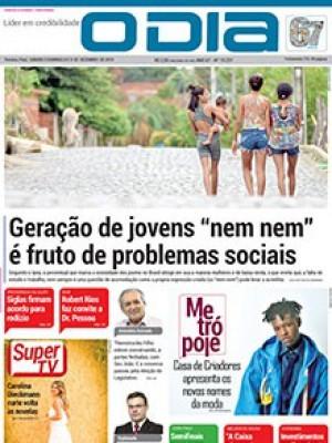 """Jornal O Dia - Geração de jovens """"nem nem"""" é fruto de problemas sociais"""