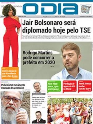 Jornal O Dia - Jair Bolsonaro será diplomado hoje pelo TSE