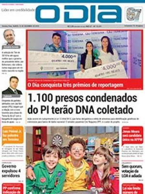 Jornal O Dia - 1.100 presos condenados do PI terão DNA coletado