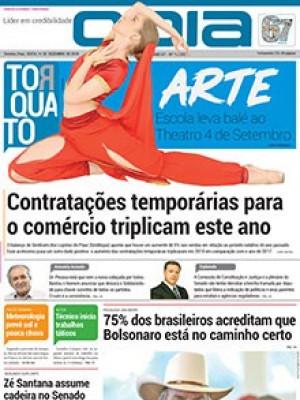 Jornal O Dia - Contratações temporárias para o comércio triplicam este ano