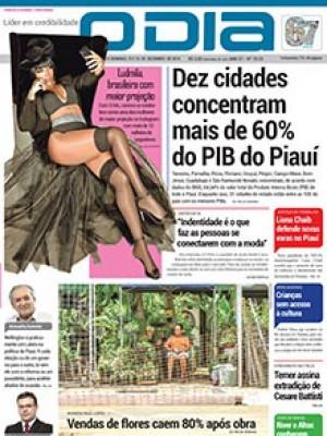 Jornal O Dia - Dez cidades concentram mais de 60% do PIB do Piauí