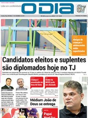 Jornal O Dia - Candidatos eleitos e suplentes são diplomados hoje no TJ