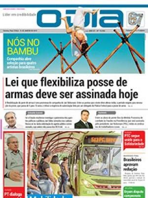 Jornal O Dia - Lei que flexibiliza posse de armas deve ser assinada hoje