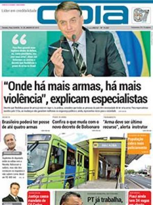 """Jornal O Dia - """"Onde há mais armas, há mais violência"""", explicam especialistas"""