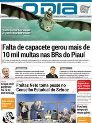 Jornal O Dia - Falta de capacete gerou mais de 10 mil multas nas BRs do Piauí