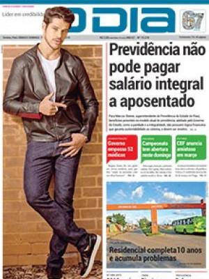 Jornal O Dia - Previdência não  pode pagar  salário integral  a aposentado