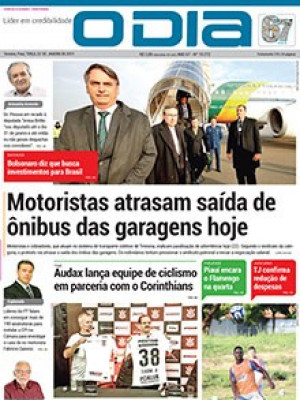 Jornal O Dia - Motoristas atrasam saída de ônibus das garagens hoje