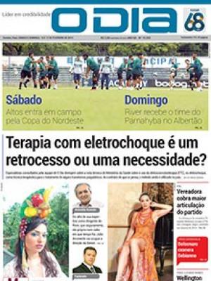 Jornal O Dia - Terapia com eletrochoque é um retrocesso ou uma necessidade?