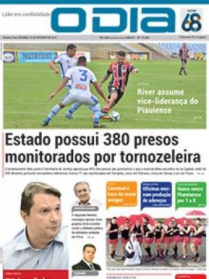 Jornal O Dia - Estado possui 380 presos monitorados por tornozeleira